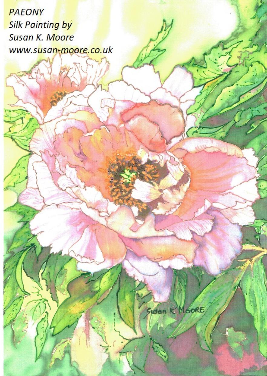 Portrait Artist And Silk Painter